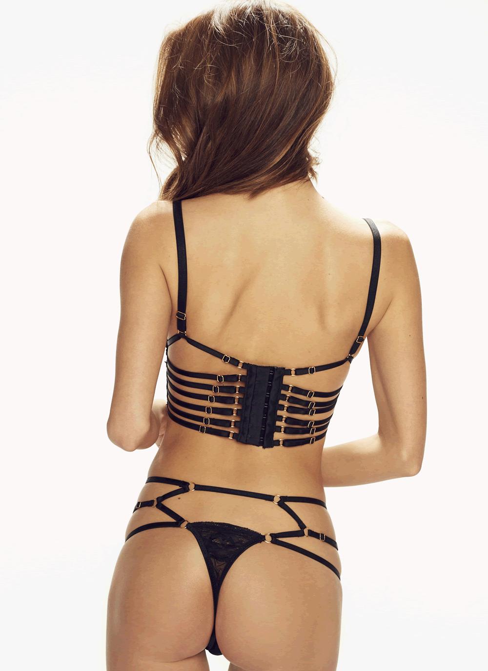 Casino Corset Panty - back