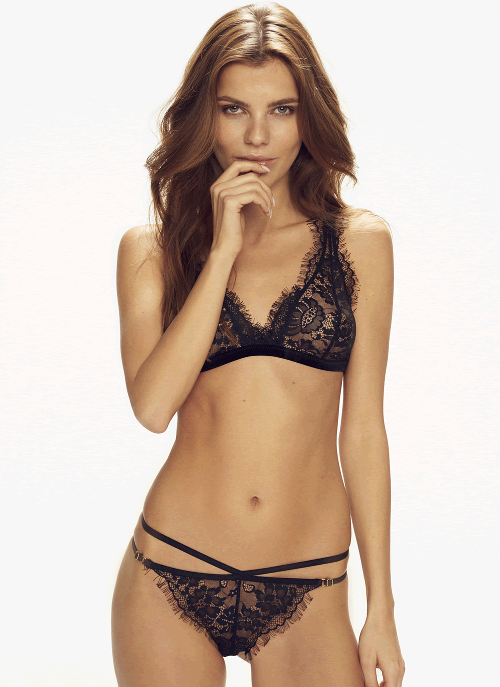 Midnight Queen Bralette & Forever Young Panty