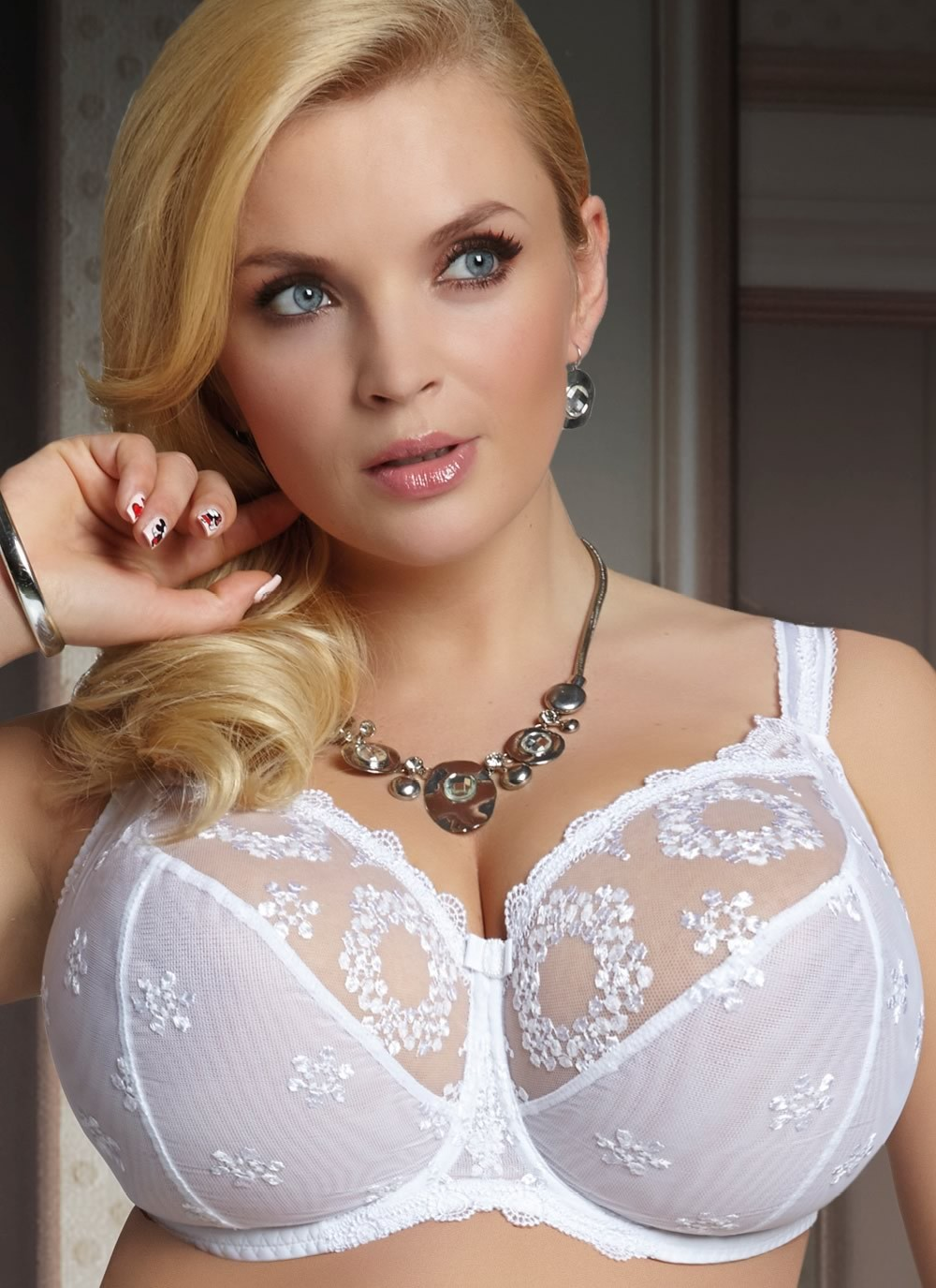 Fortuna Soft Full Cup Bra - white