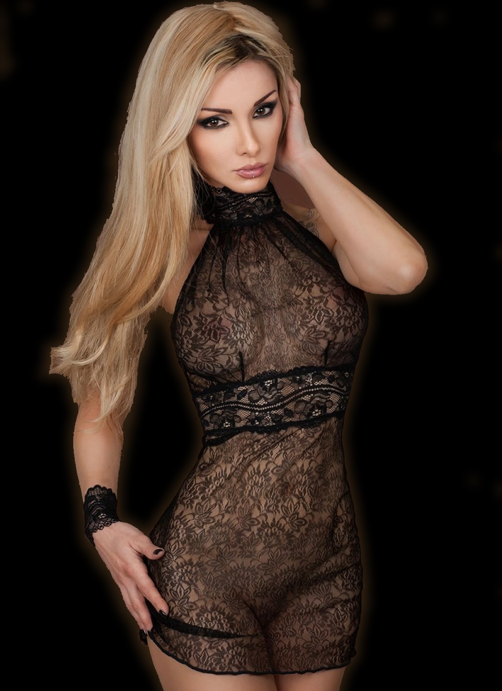 6bedd2f329d71 Sailing Reglisse Nuisette Babydoll by Luxxa Lingerie | Eye Kandee ...