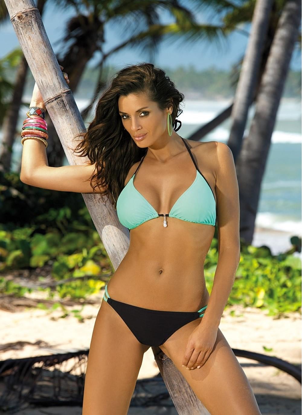 Erica Triangle Bikini Top