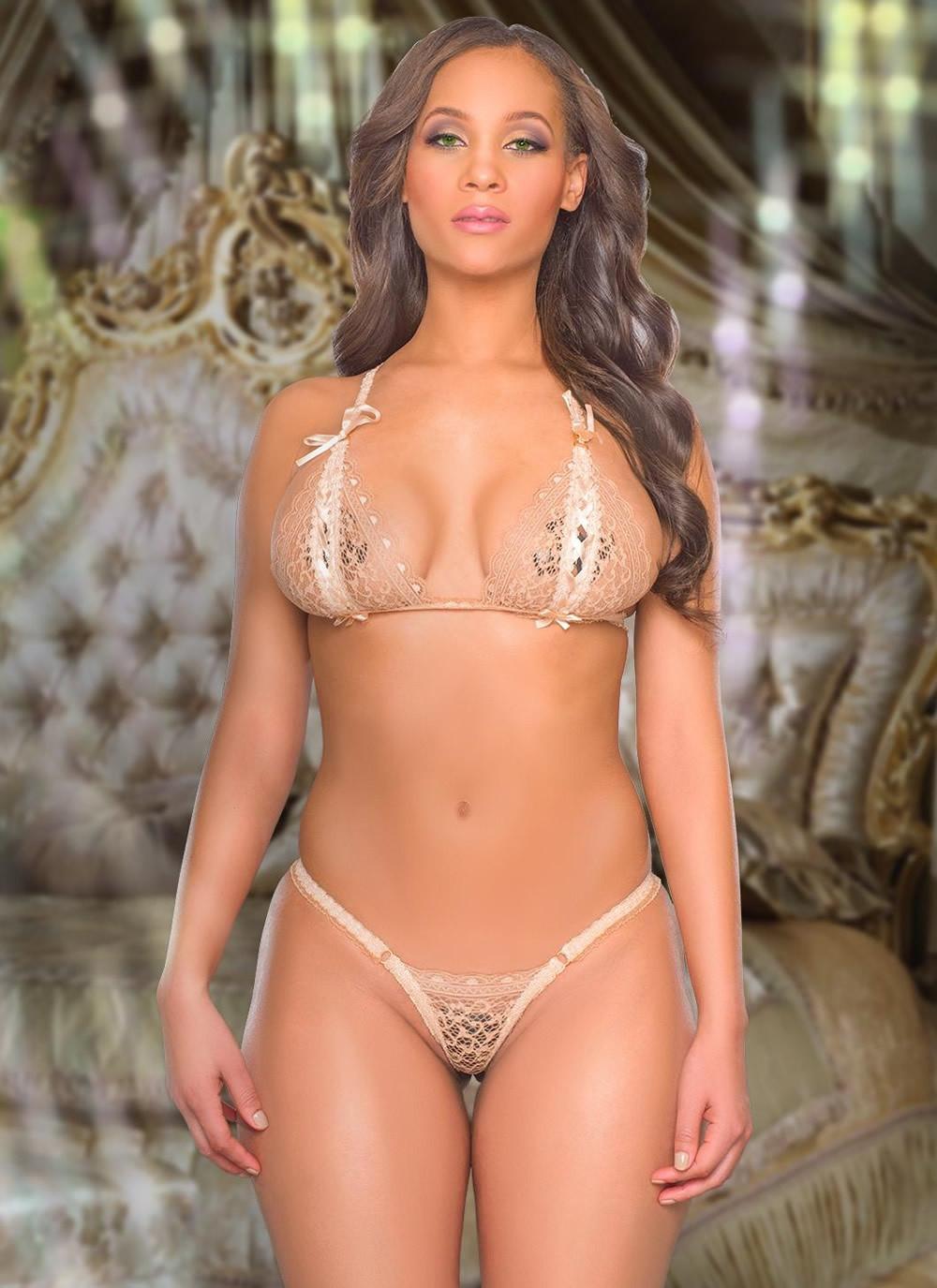 Liana Lace Bra & Panty Set