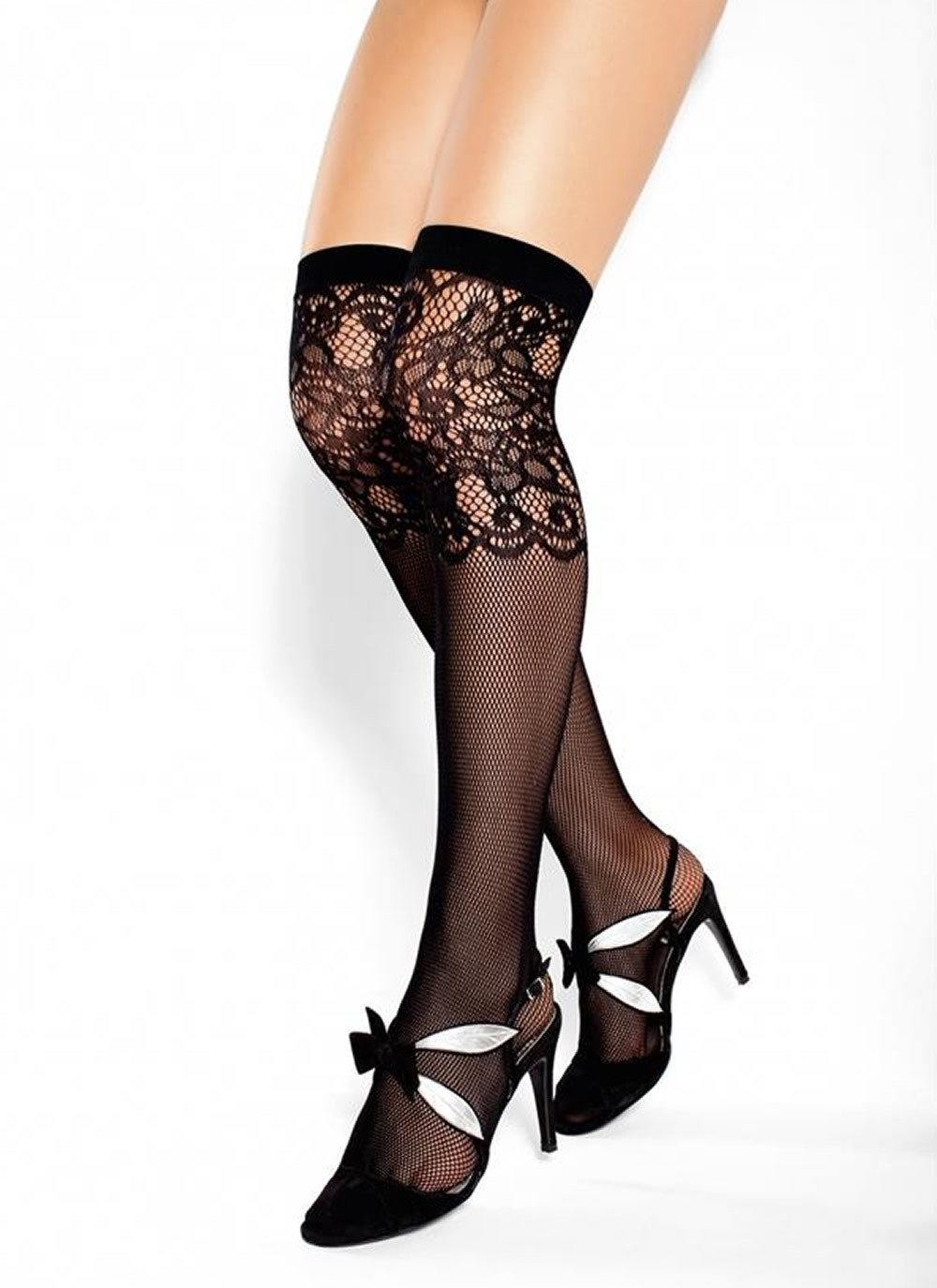Blackjack Knee High Stocking