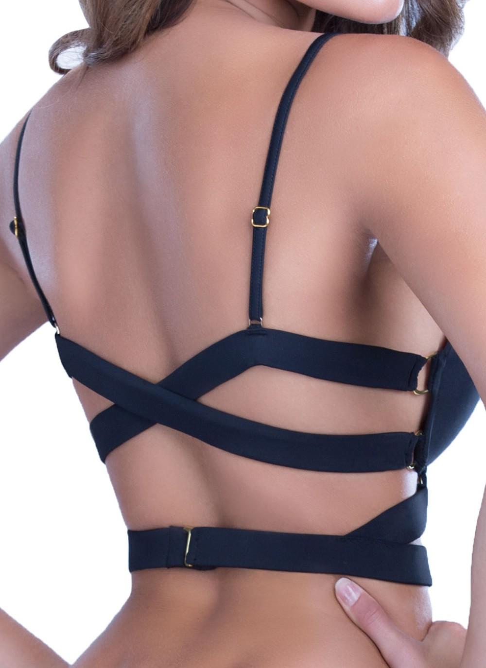 Natasha Longline Bikini Top