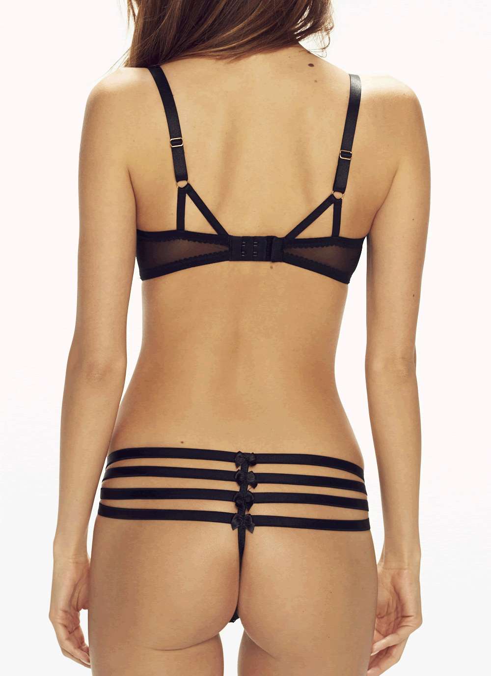 Stardust Strappy Tanga Panty