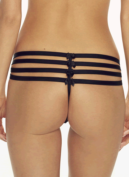 Caprice - Stardust Strappy Tanga Panty