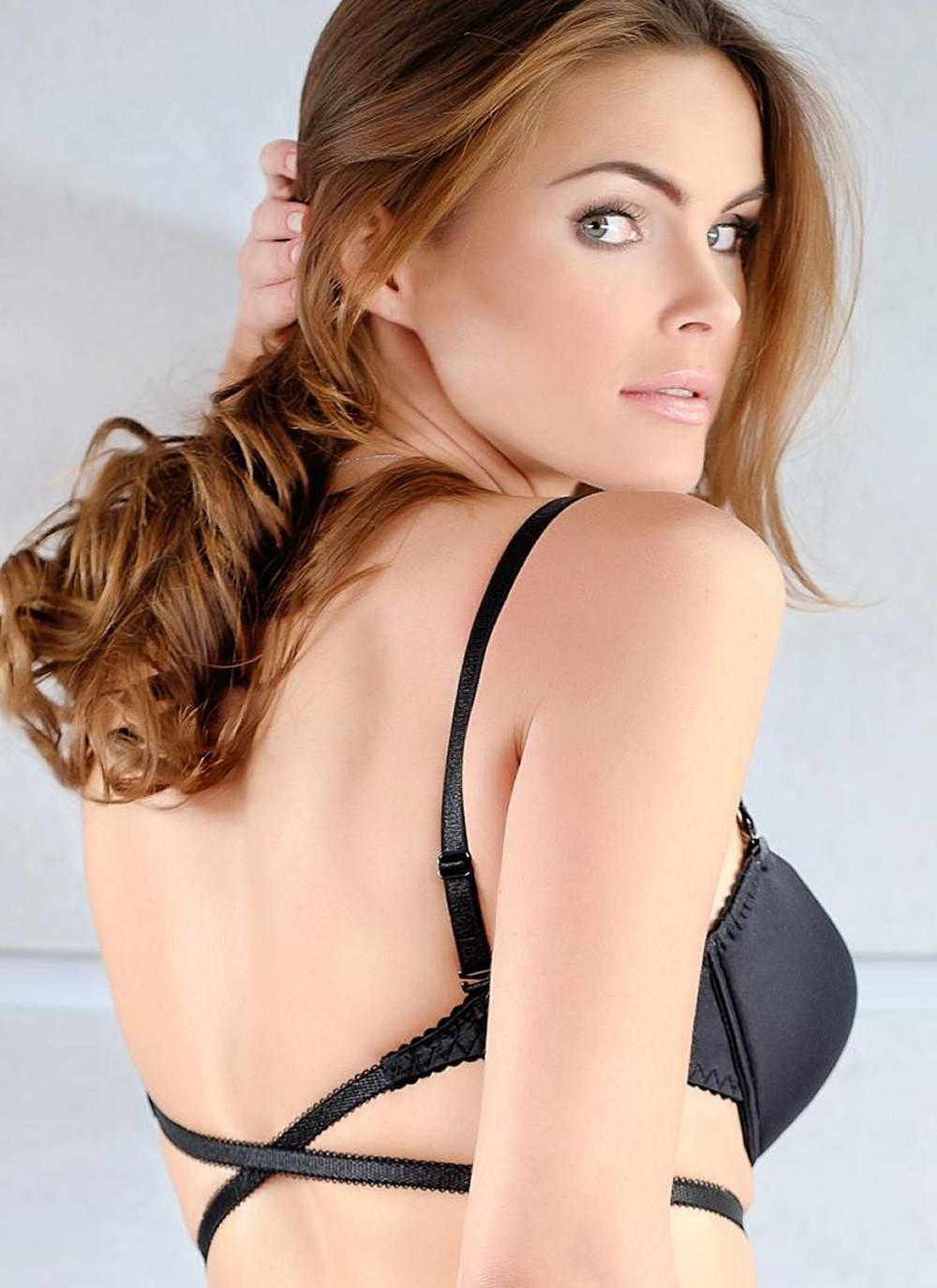 Plunge bra - back