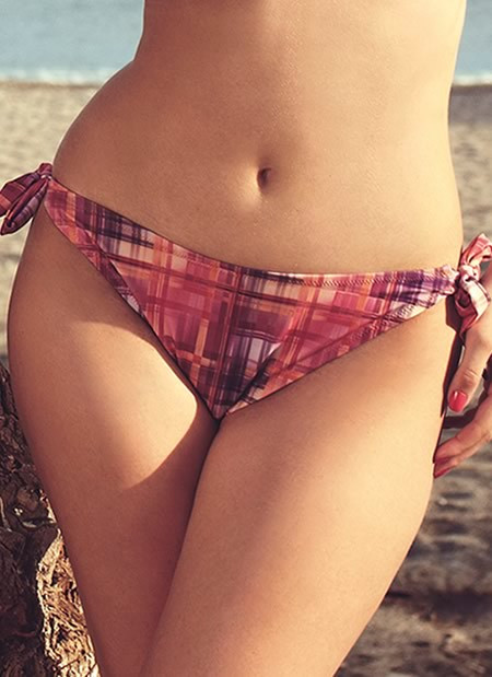 Elsa Tie Side Bikini Bottom