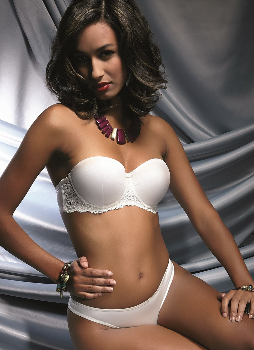 Diamond White Balconette Convertible Bra