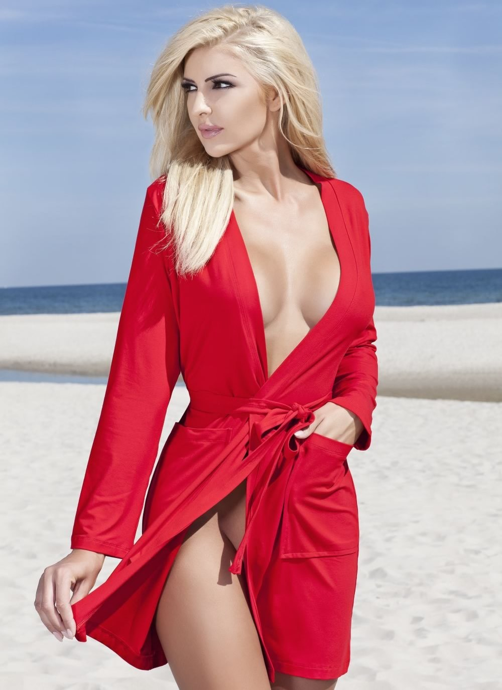 Ines Robe - Red