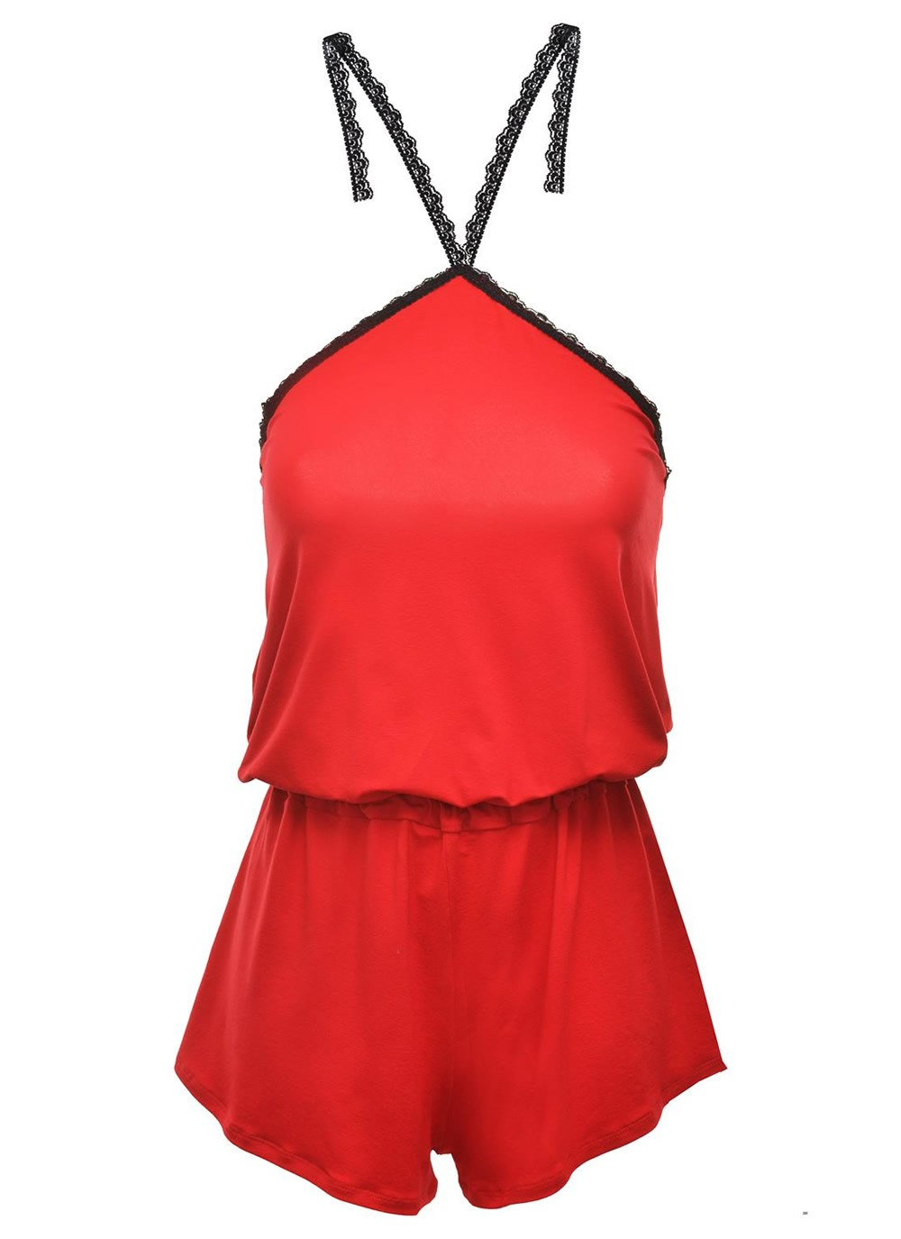 Ruth Romper - Red