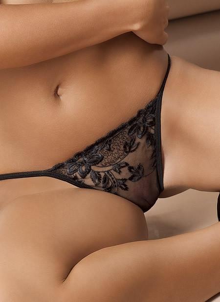 Donna Sheer Back Brief Panty