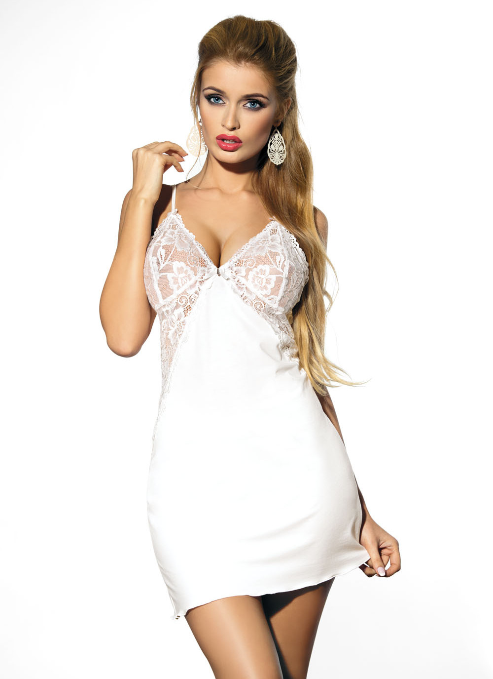 Flawia Babydoll - white