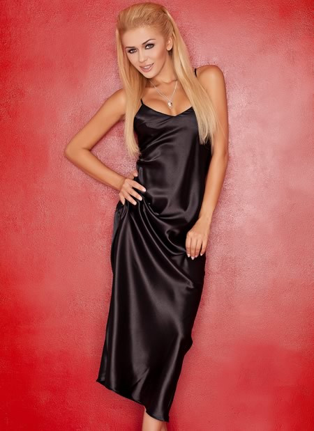 Iga Satin Gown