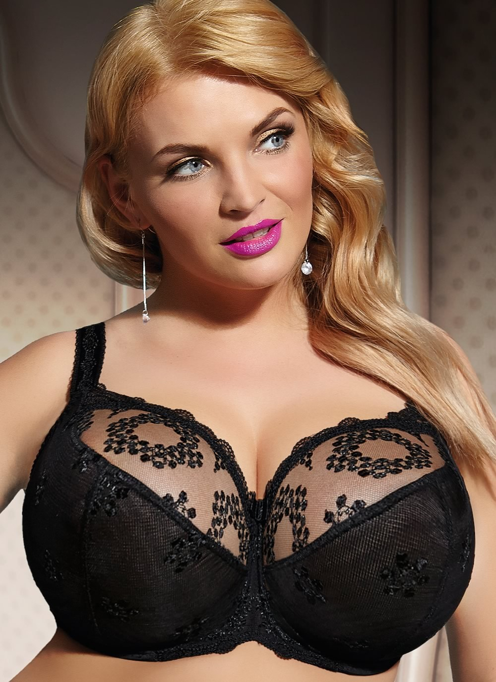 Fortuna Soft Full Cup Bra - black