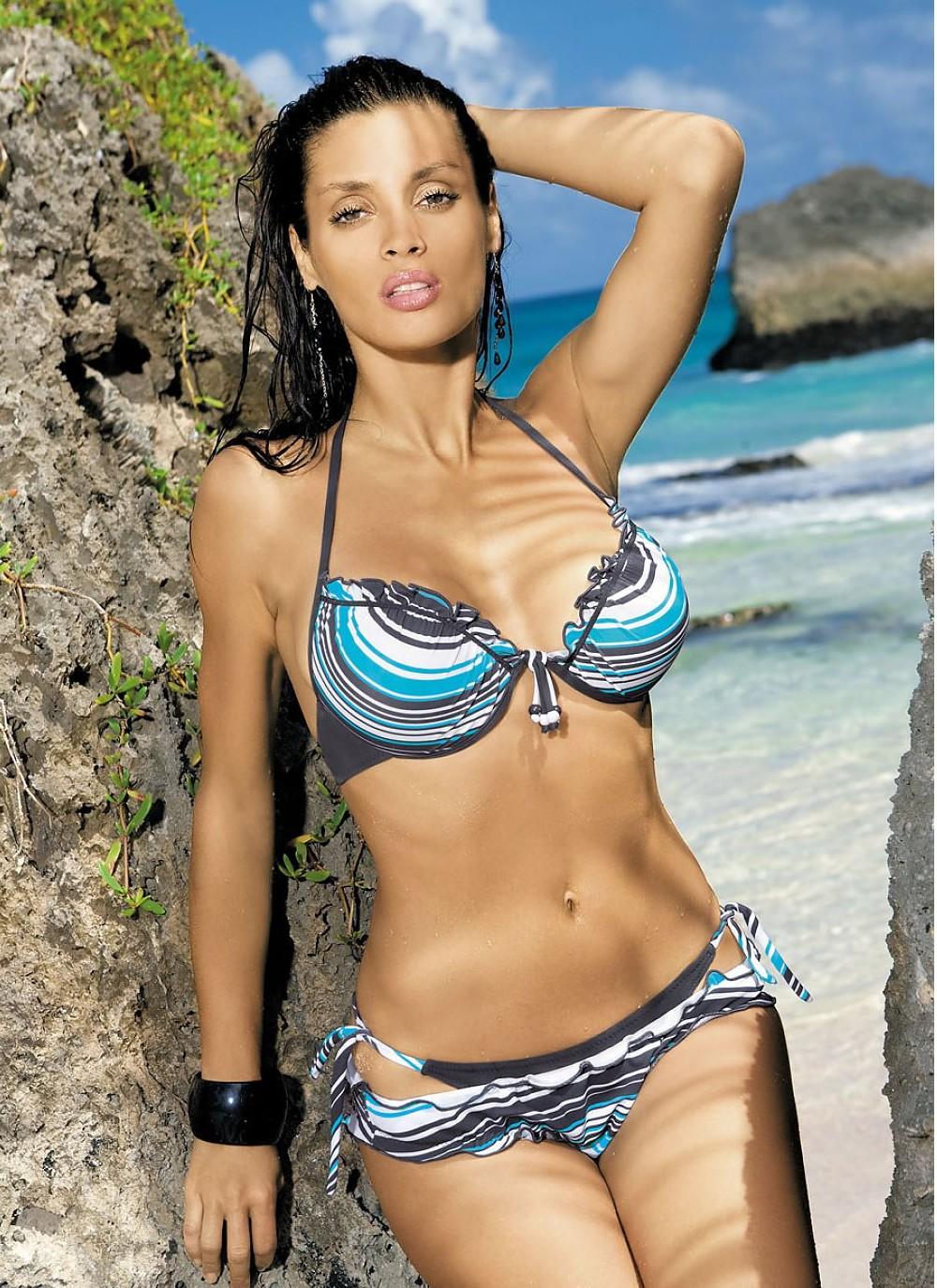 Vicki Scalloped Bikini Bottom