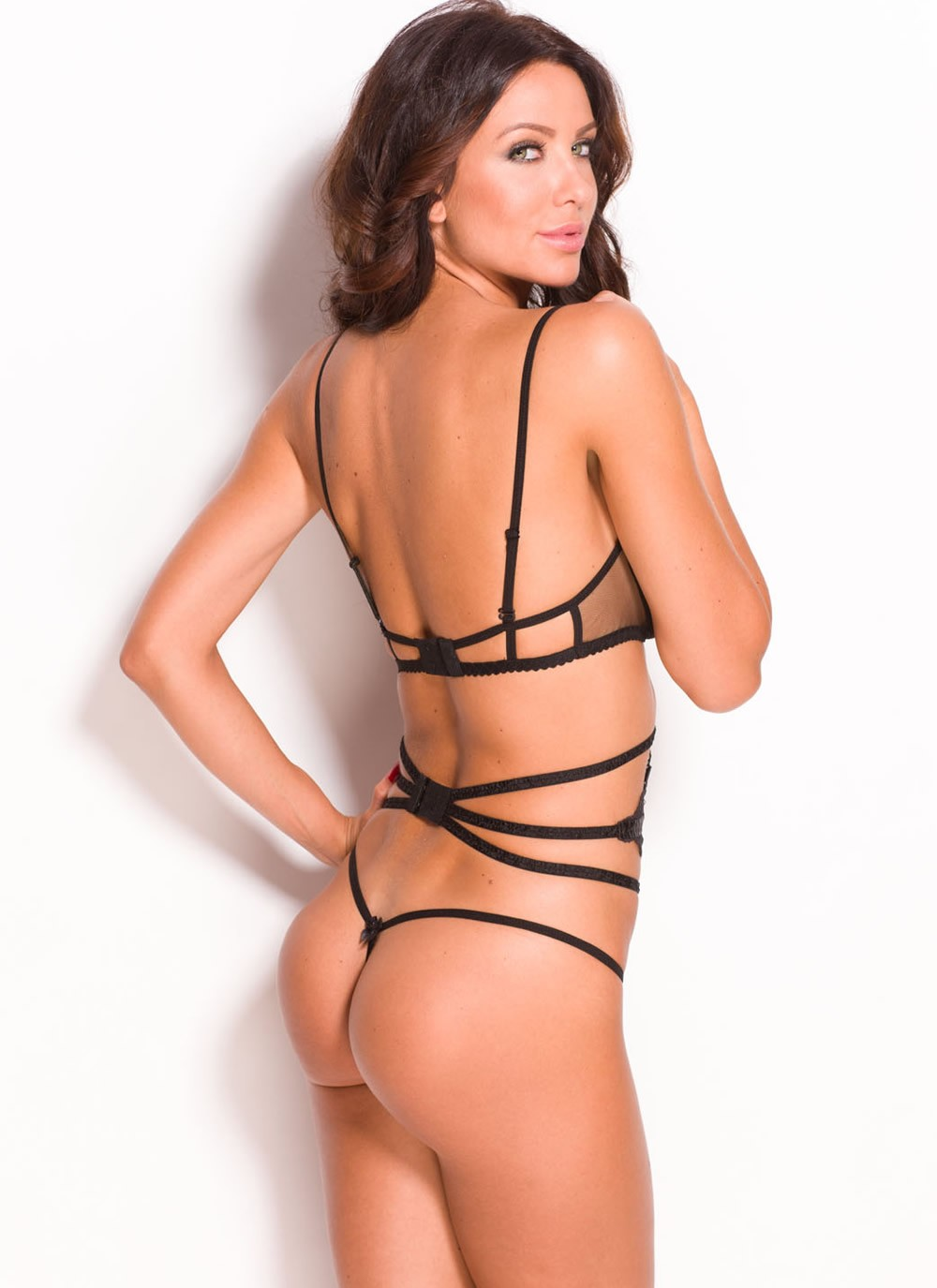 Miren Lace G-String - Back