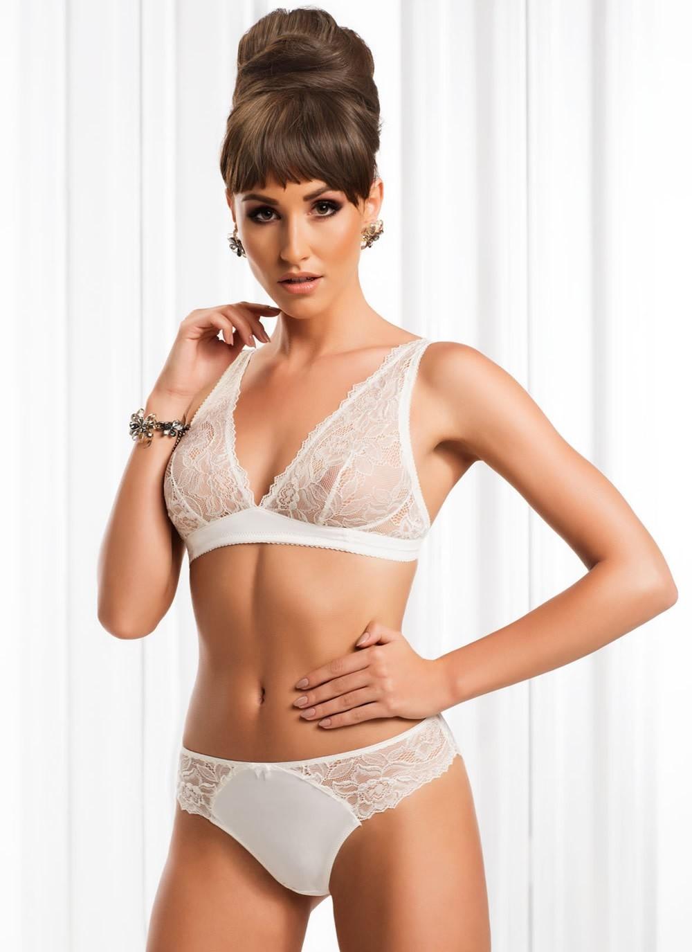 Falon Bralette - White
