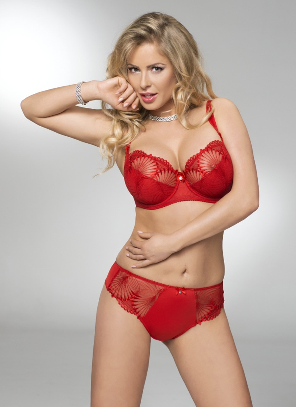 Selena Red Soft Cup Bra