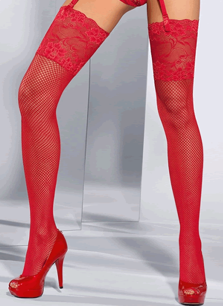 Seduce Me Fishnet Stockings