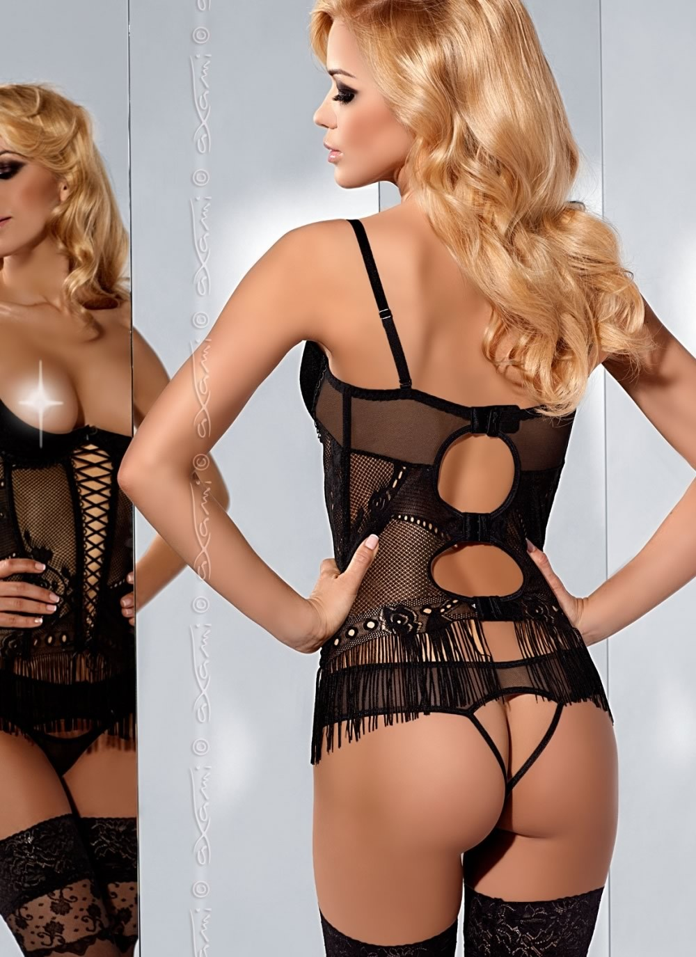 Please Me Bustier- Back