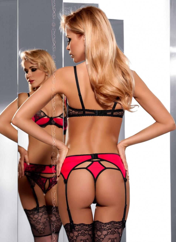Desire Me Garter Belt - Back