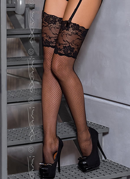 Manolo Fishnet Stocking