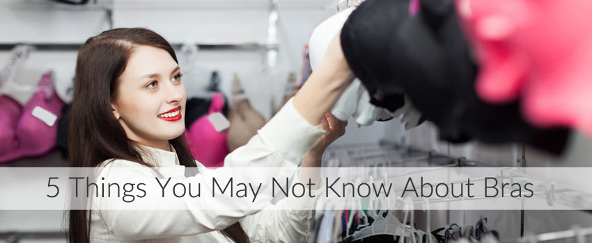 5 Things You May Not Know About Bras & Boobs